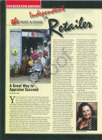 Music Retailer Article features A&D Music